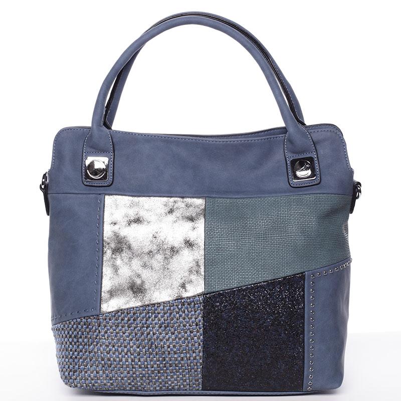 Módní dámská kabelka do ruky modrá - MARIA C Lise