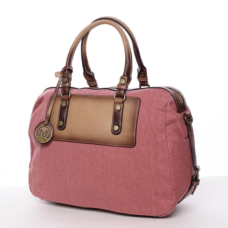 Originální dámská kabelka do ruky červená - MARIA C Fayette