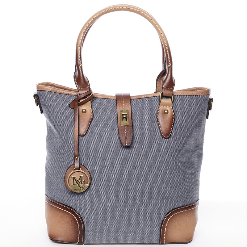 Elegantní dámská kabelka do ruky modrá - MARIA C Bernelle