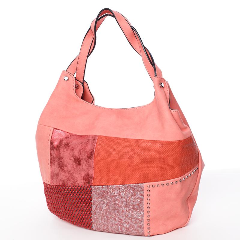 Trendy dámská kabelka do ruky červená - MARIA C Cadence