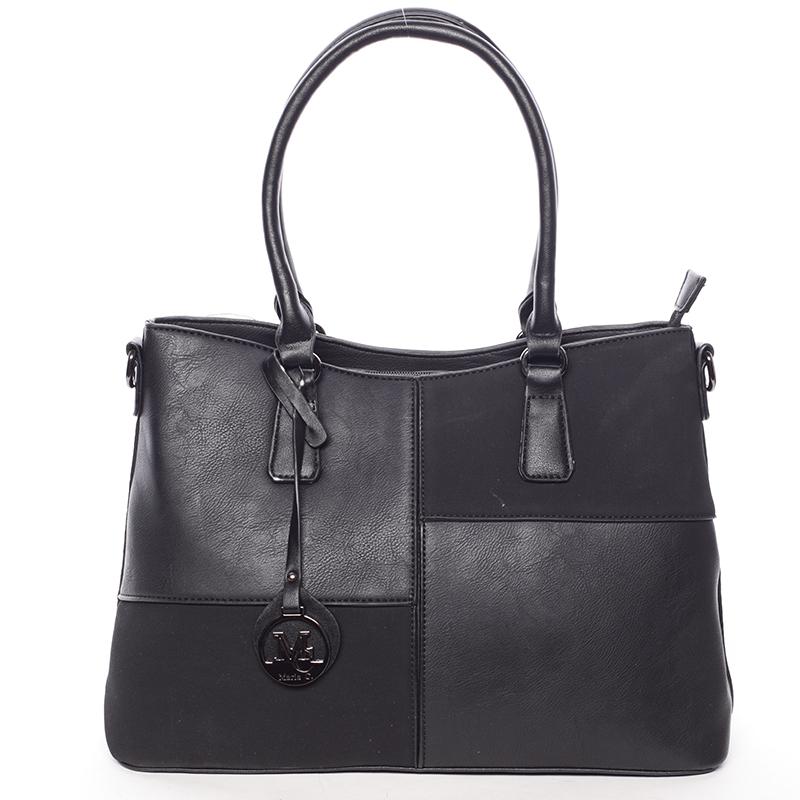 Kvalitní dámská kabelka přes rameno černá - MARIA C Evangelina