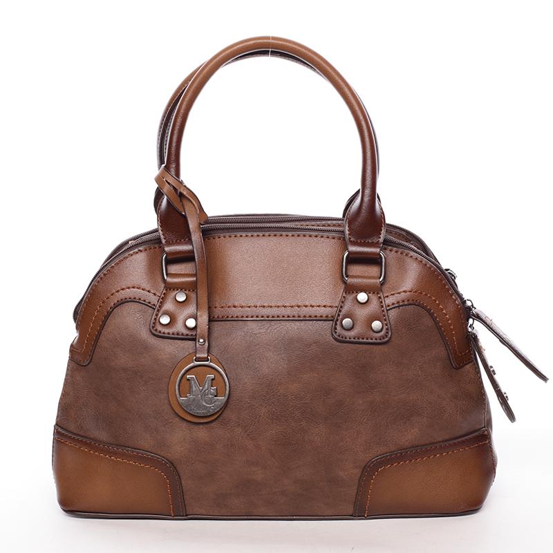 Originální dámská kabelka do ruky hnědá - MARIA C Eudosia