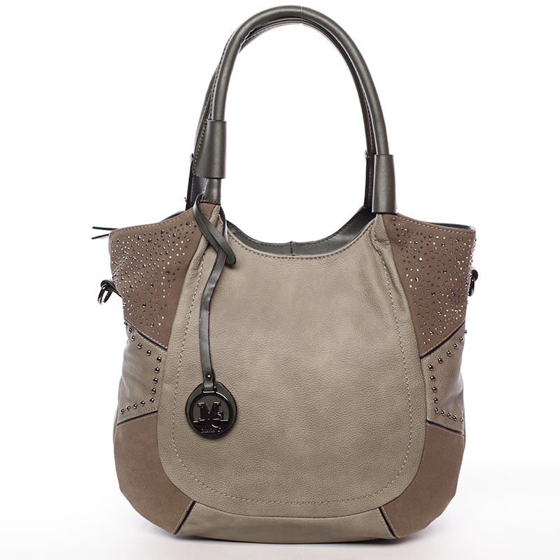 Dámská módní kabelka přes rameno zelená - MARIA C Euphrosyne