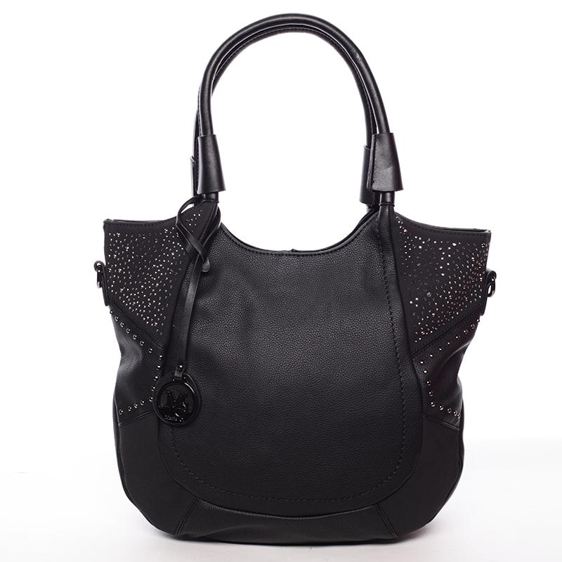 Dámská módní kabelka přes rameno černá - MARIA C Euphrosyne
