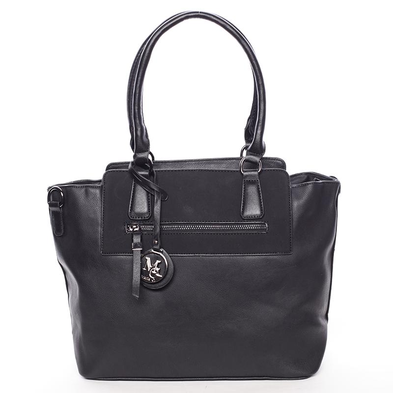 Elegantní dámská kabelka přes rameno černá - MARIA C Eleana