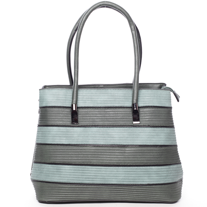 Módní dámská kabelka přes rameno zelená - MARIA C Elaina