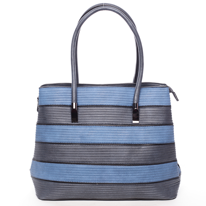 Módní dámská kabelka přes rameno tmavě modrá - MARIA C Elaina