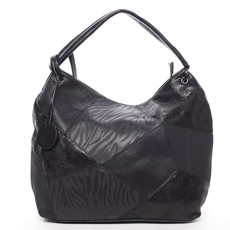 Dámská luxusní kabelka černá - Maria C Eidothea