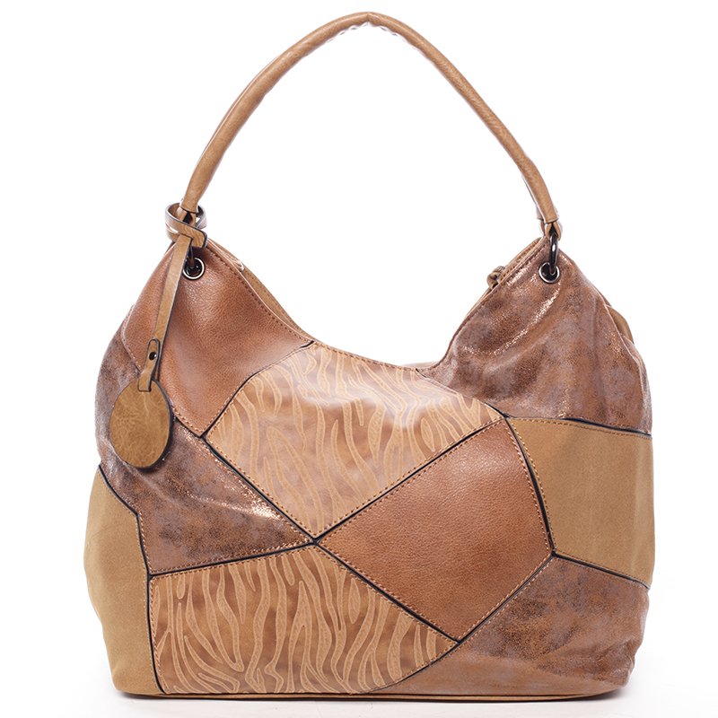 Dámská luxusní kabelka hnědá - Maria C Eidothea