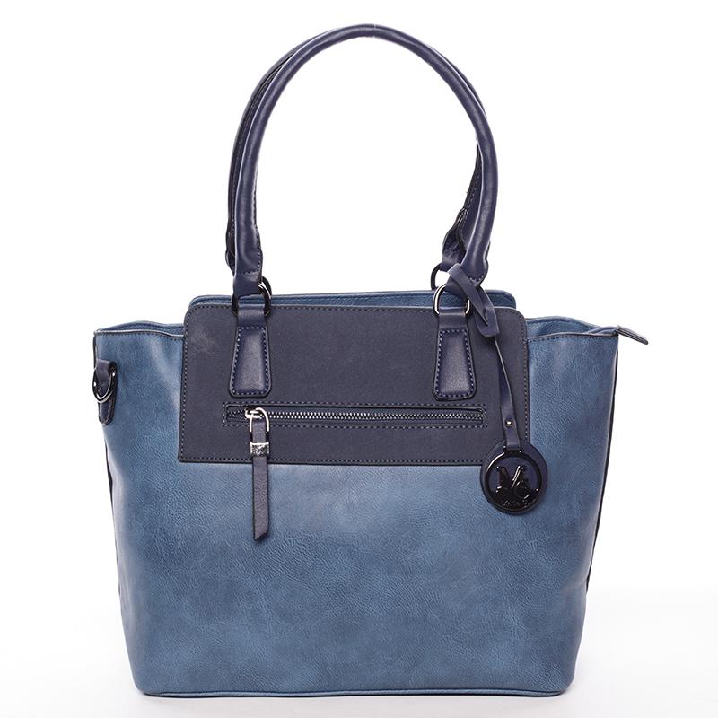 Elegantní dámská kabelka přes rameno modrá - MARIA C Eleana