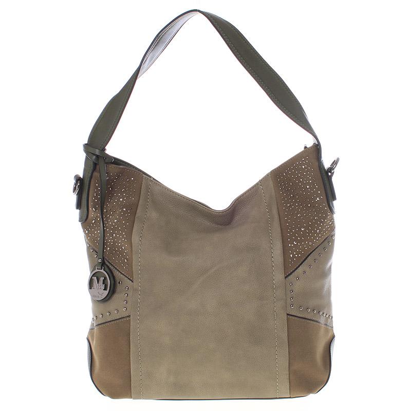 Dámská originální kabelka přes rameno zelená - MARIA C Ecaterina