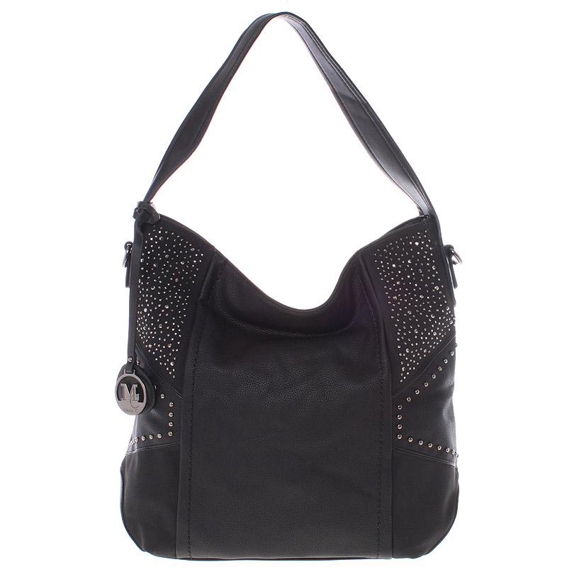 Dámská originální kabelka přes rameno černá - MARIA C Ecaterina