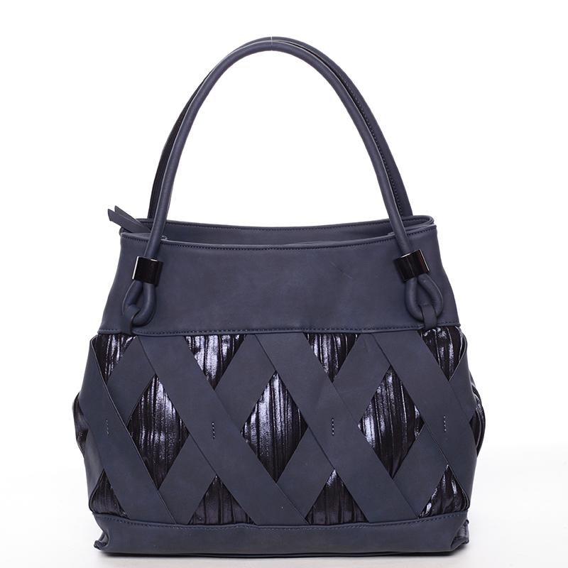 Jedinečná tmavě modrá dámská kabelka - MARIA C Elani