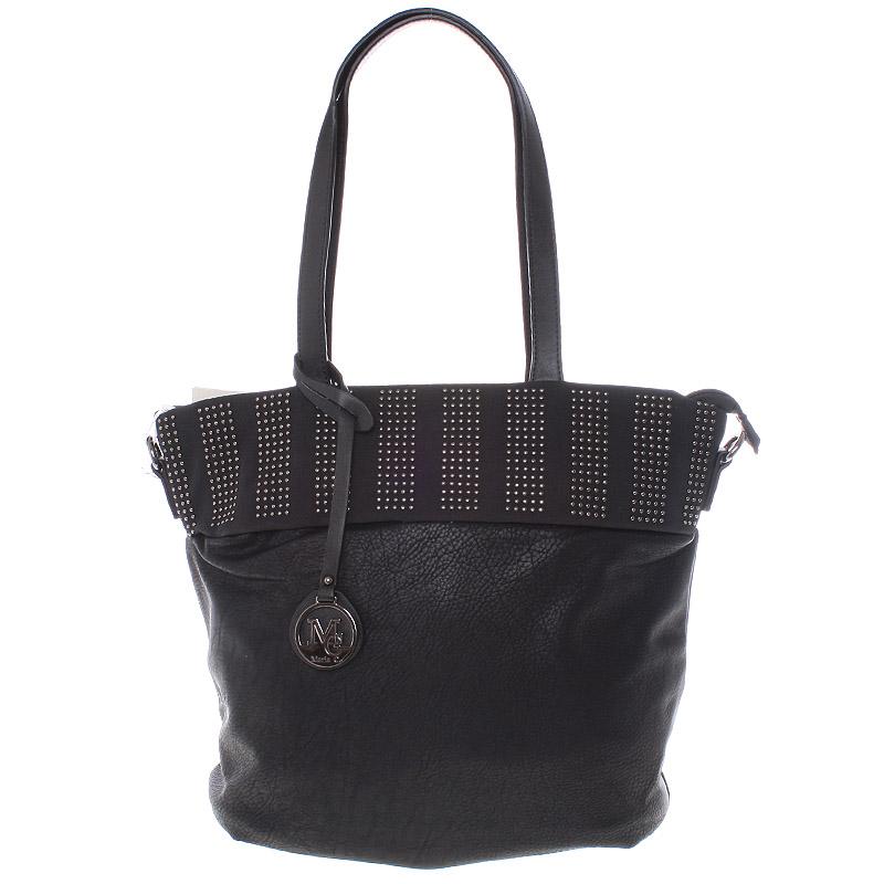 Dámská stylová kabelka přes rameno černá - Maria C Erytheia