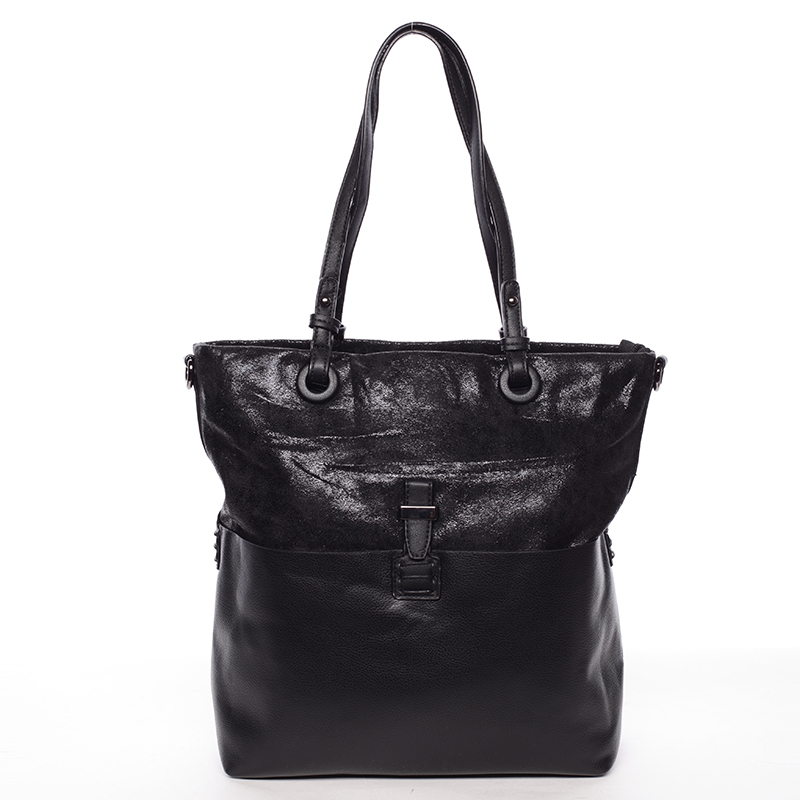 Trendy dámská kabelka přes rameno černá - MARIA C Kalish