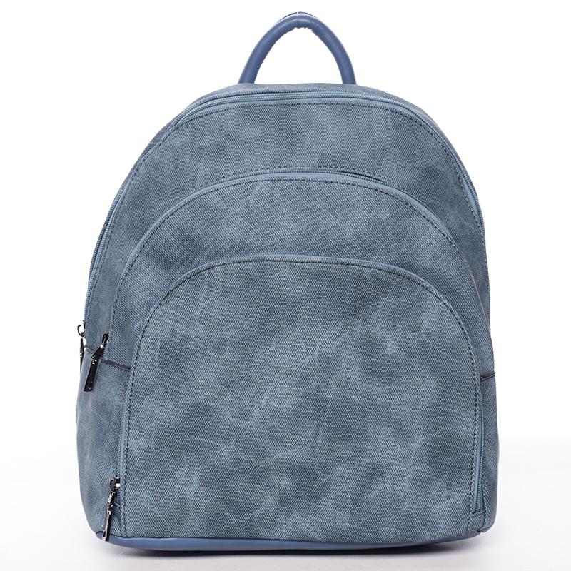 Pohodlný dámský modrý batoh - MARIA C Fate