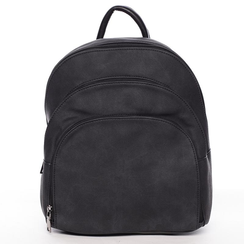 Pohodlný dámský černý batoh - MARIA C Fate