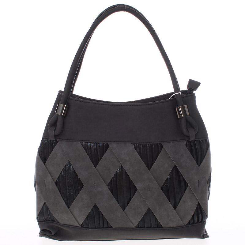Jedinečná černá dámská kabelka - MARIA C Elani