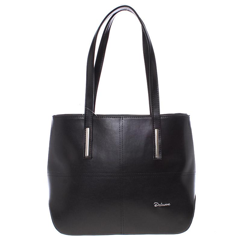 Dámská luxusní kabelka přes rameno černá - Delami Leonela