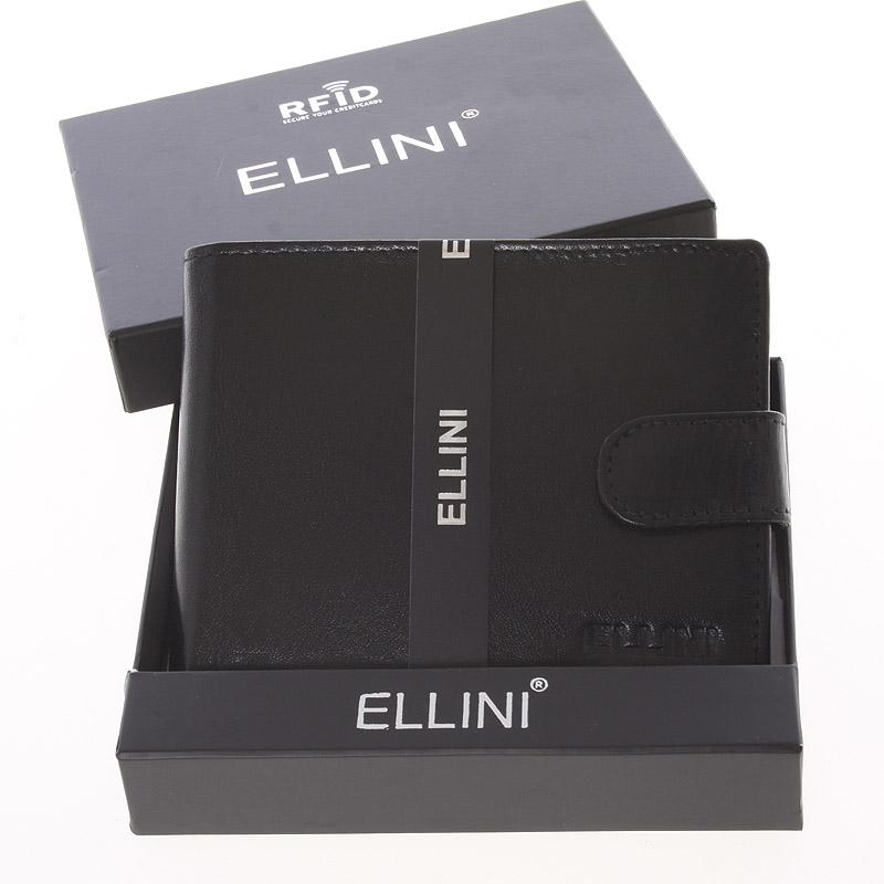 Pánská peněženka černá - Ellini Lorenzo