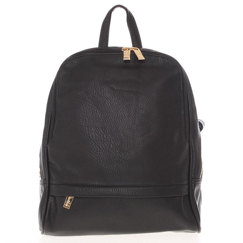 Dámský originální větší batoh černý - Silvia Rosa Karsten