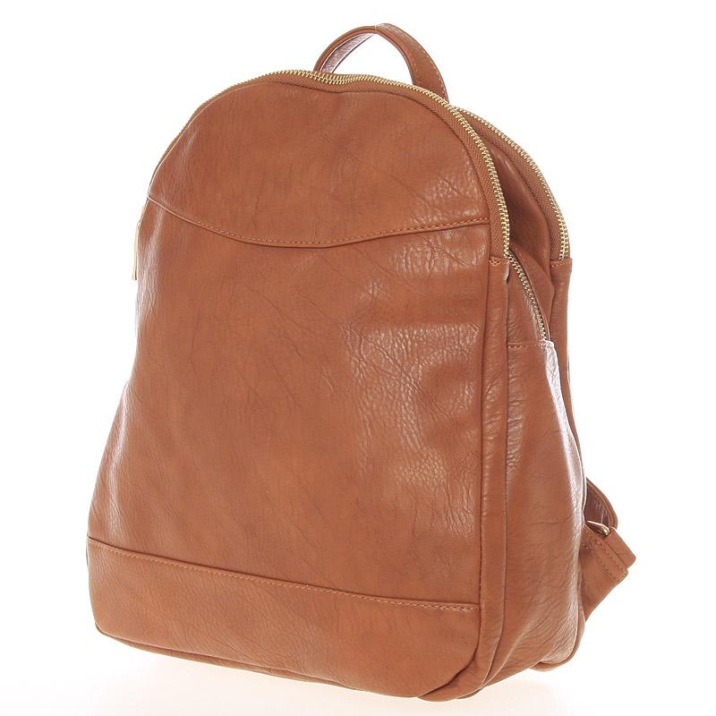 Městský dámský batoh hnědý - Silvia Rosa Karpos