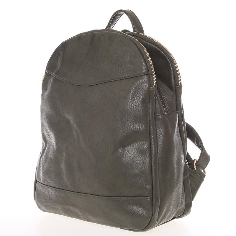 Městský dámský batoh tmavě zelený - Silvia Rosa Karpos