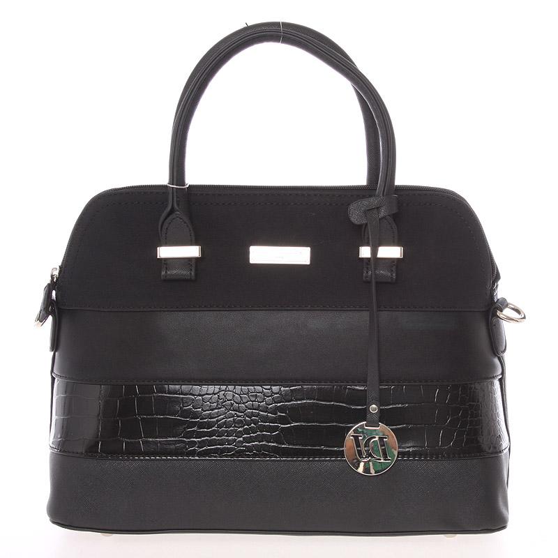Exkluzivní černá kabelka do ruky - David Jones Kelsey