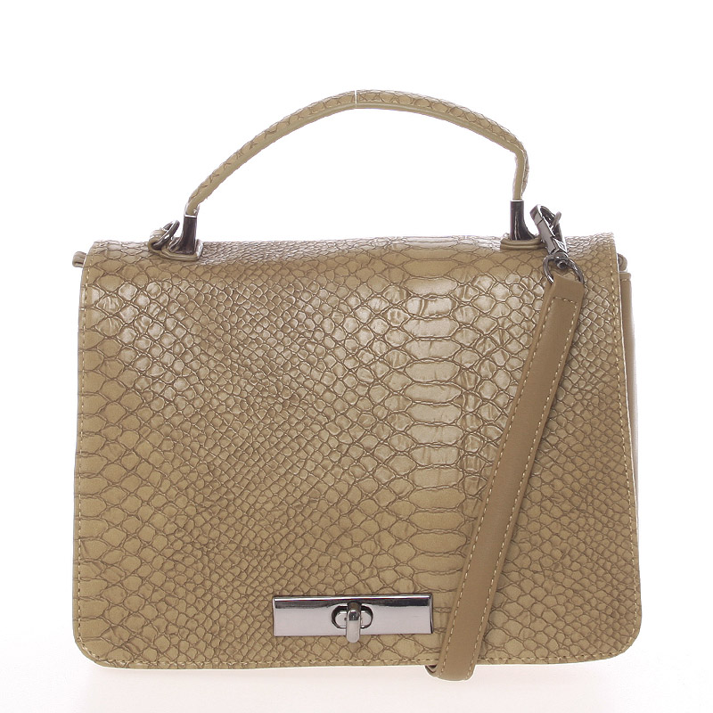 Originální kabelka do ruky khaki - David Jones Cataleya