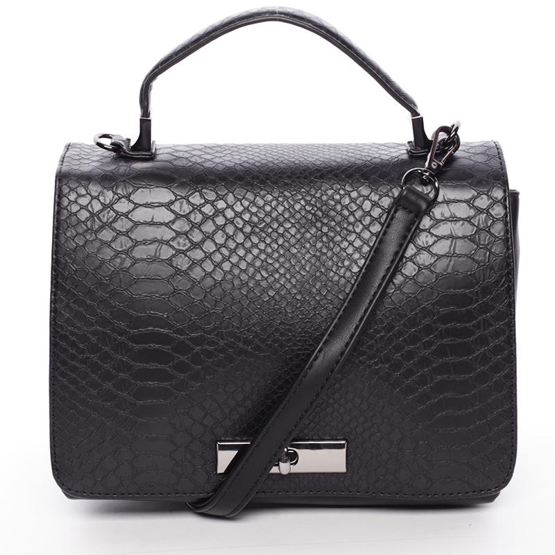 Originální kabelka do ruky černá - David Jones Cataleya