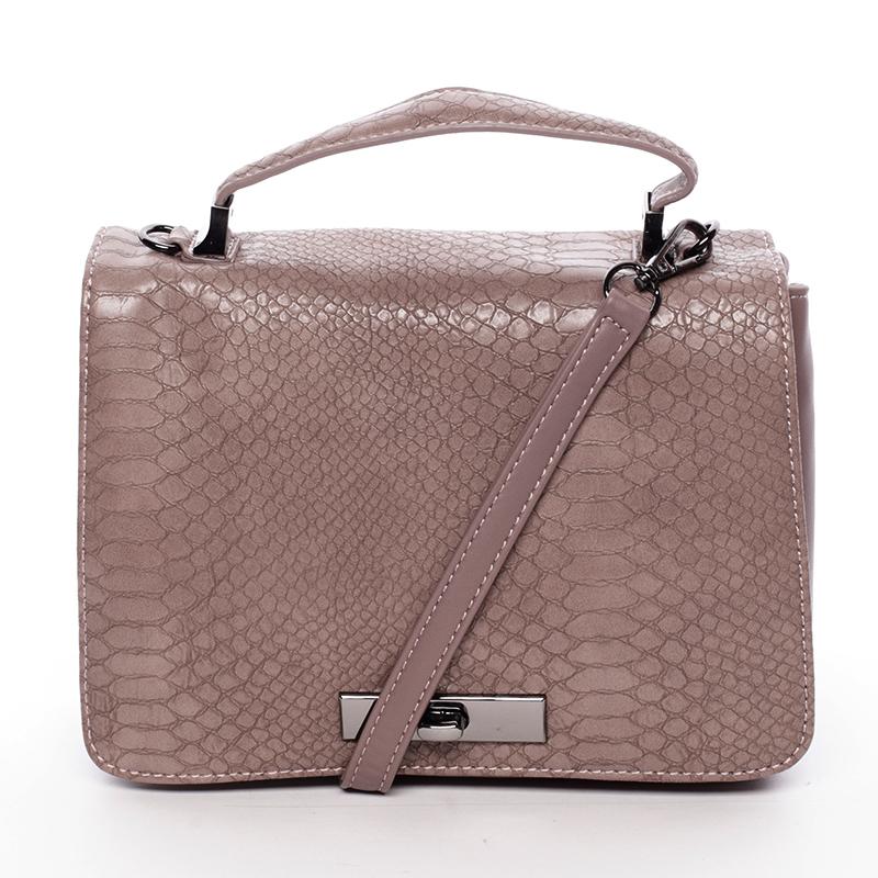 Originální kabelka do ruky růžová - David Jones Cataleya