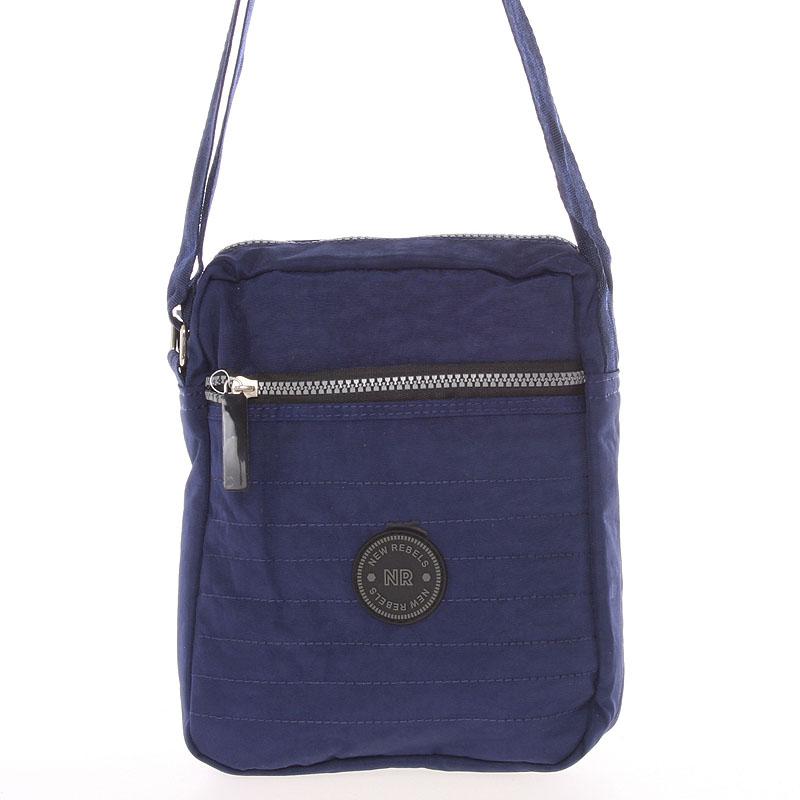 Menší sportovní taška na doklady modrá - New Rebels Callum