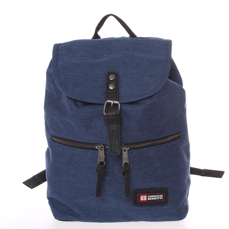 Originální dámský modrý batoh - Enrico Benetti Moriah