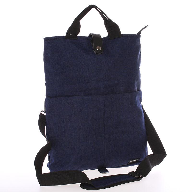 Unikátní modrá nylonová taška - Enrico Benetti Abydos