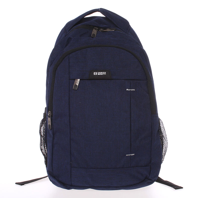 Moderní modrý batoh do školy - Enrico Benetti Acheron