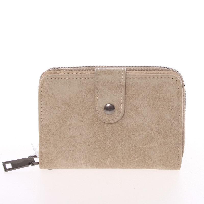 Dámska praktická taupe peněženka - Just Dreamz Erin