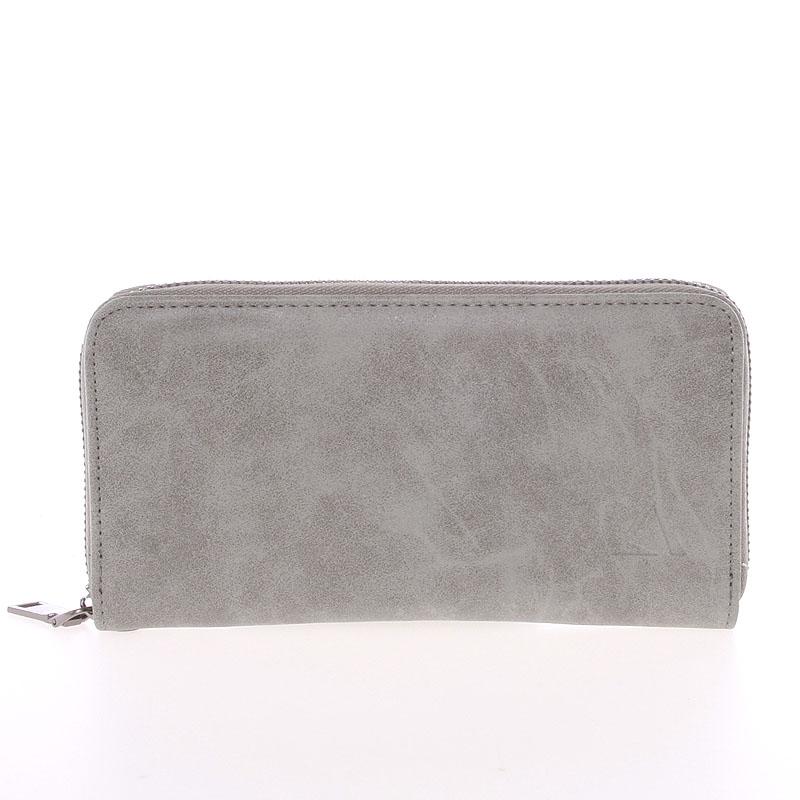 Elegantní dámská šedá peněženka - Just Dreamz Mayce
