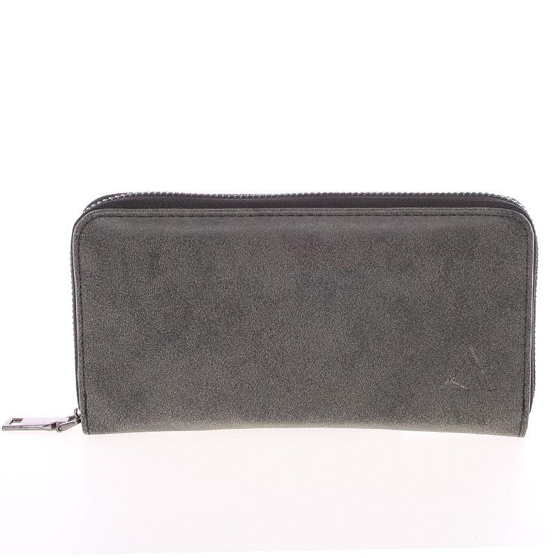 Elegantní dámská tmavě šedá peněženka - Just Dreamz Mayce