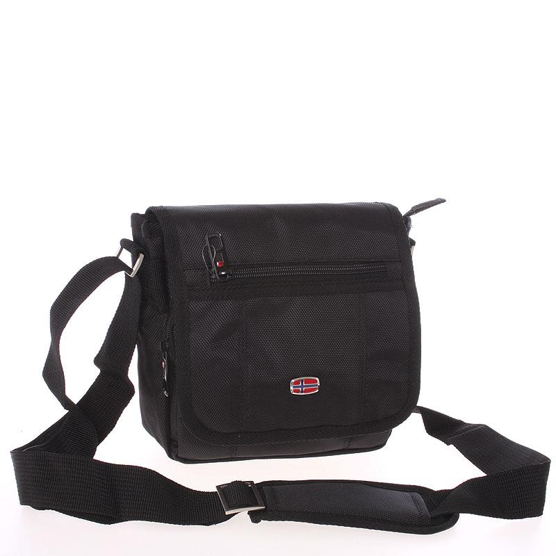 Menší černá crossbody taška - New Rebels Sport