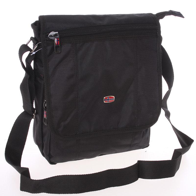 Sportovní taška na doklady černá - New Rebels Crocc