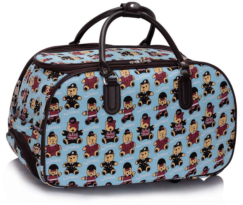 Dětská cestovní taška modrá - LS Fashion 0308