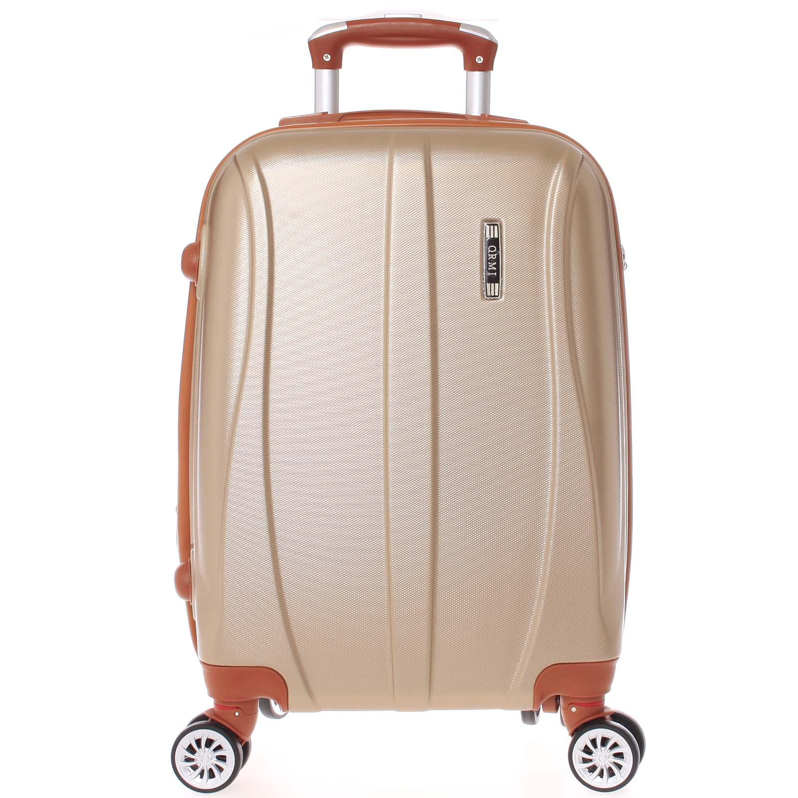 Pevný zlatý cestovní kufr - Ormi Othelo S