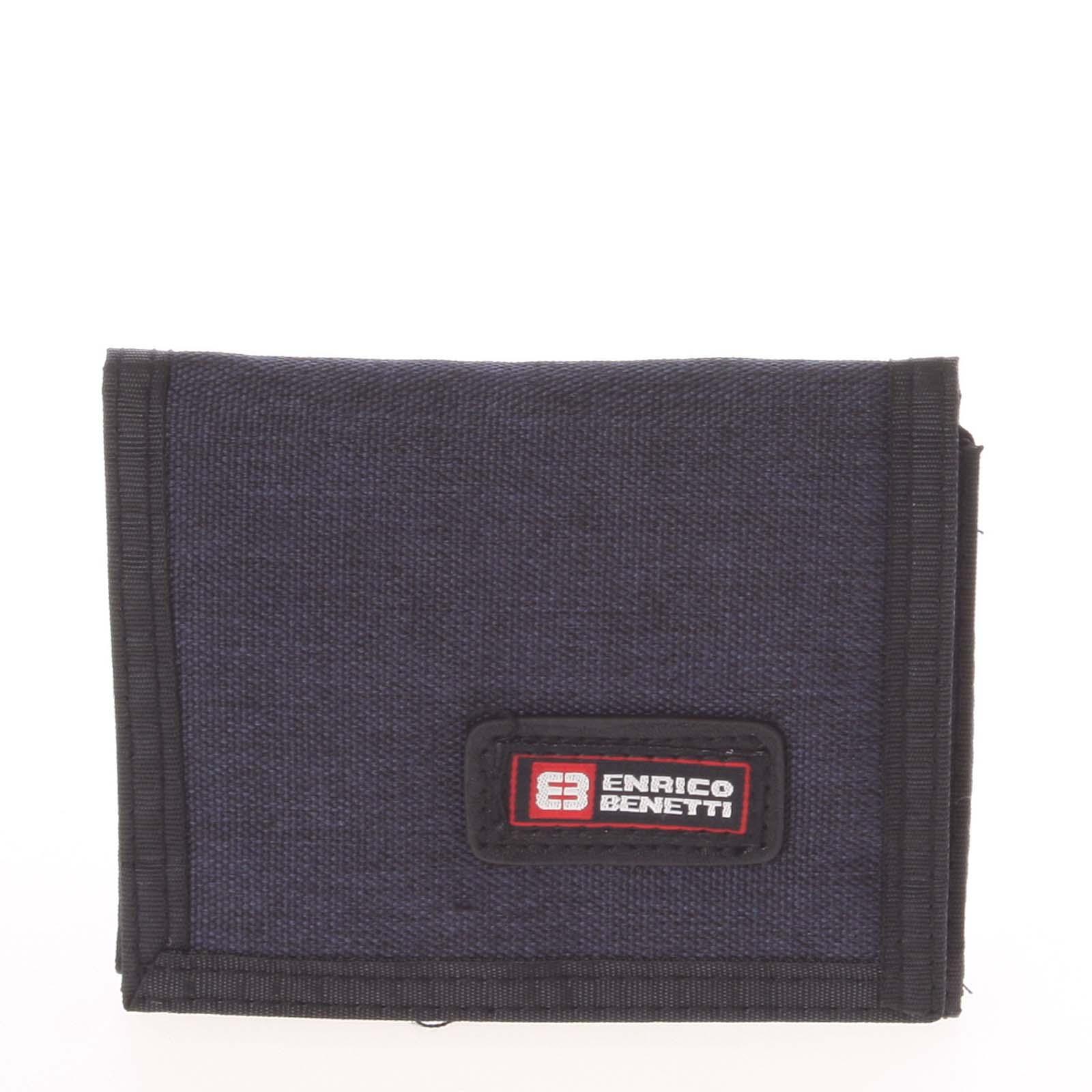 Peněženka látková tmavě modrá - Enrico Benetti 4500