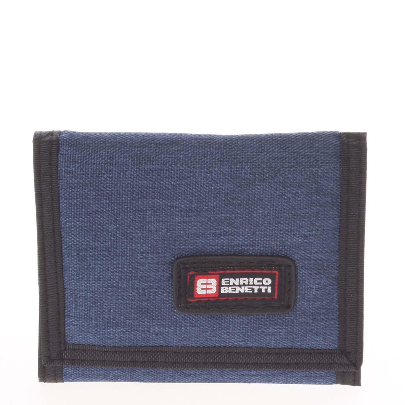 Peněženka látková jeansová modrá - Enrico Benetti 4500