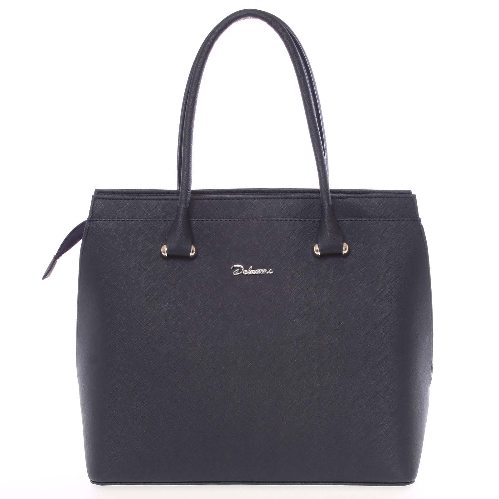 Dámská kabelka tmavě modrá saffiano - Delami Tatiana