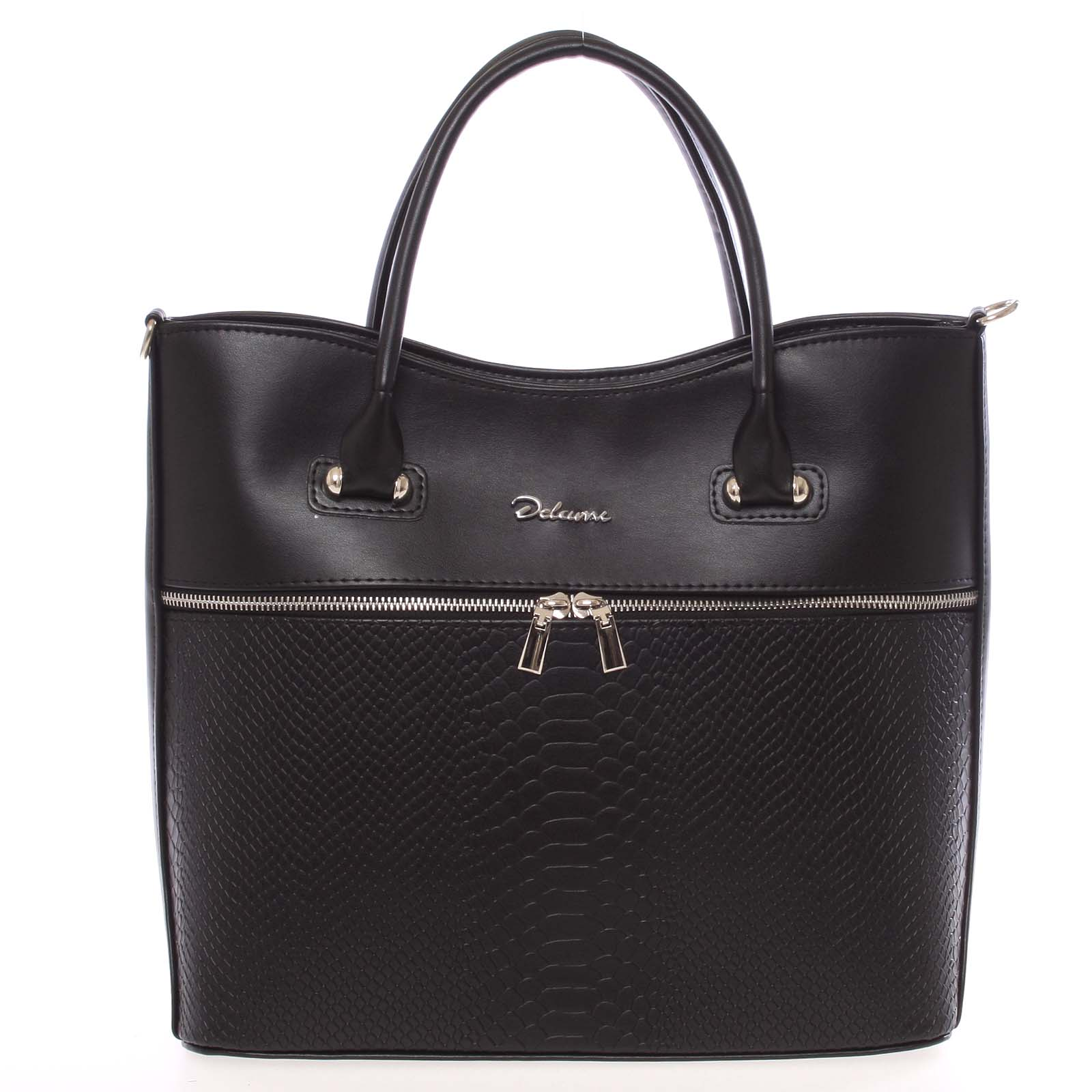 Luxusní dámská kabelka černá - Delami Veronica
