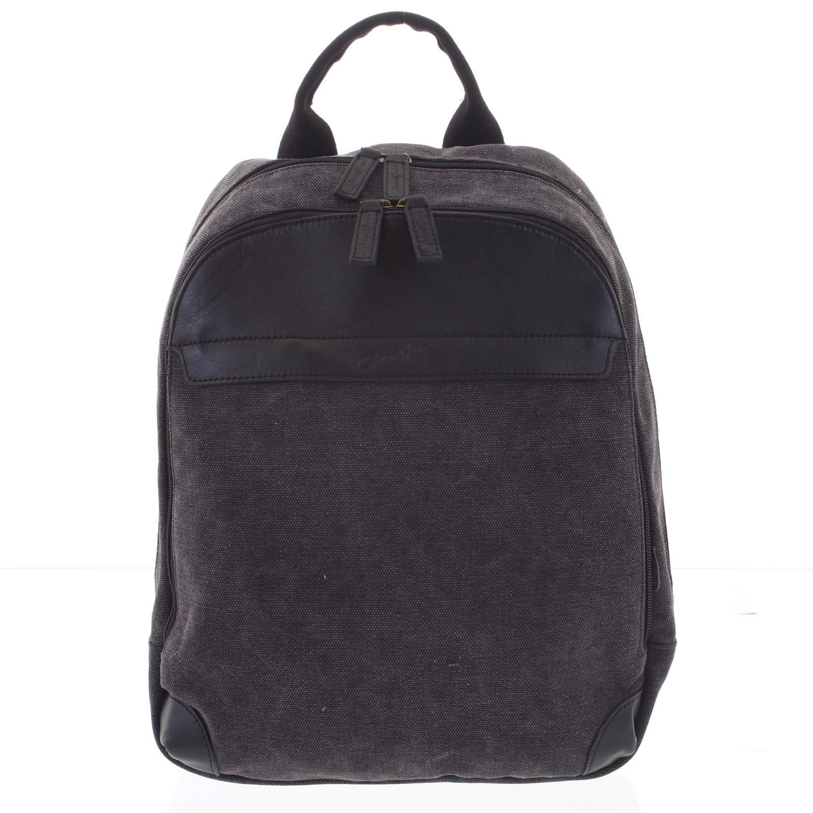 Stylový pánský batoh černý - Gerard Henon Roch