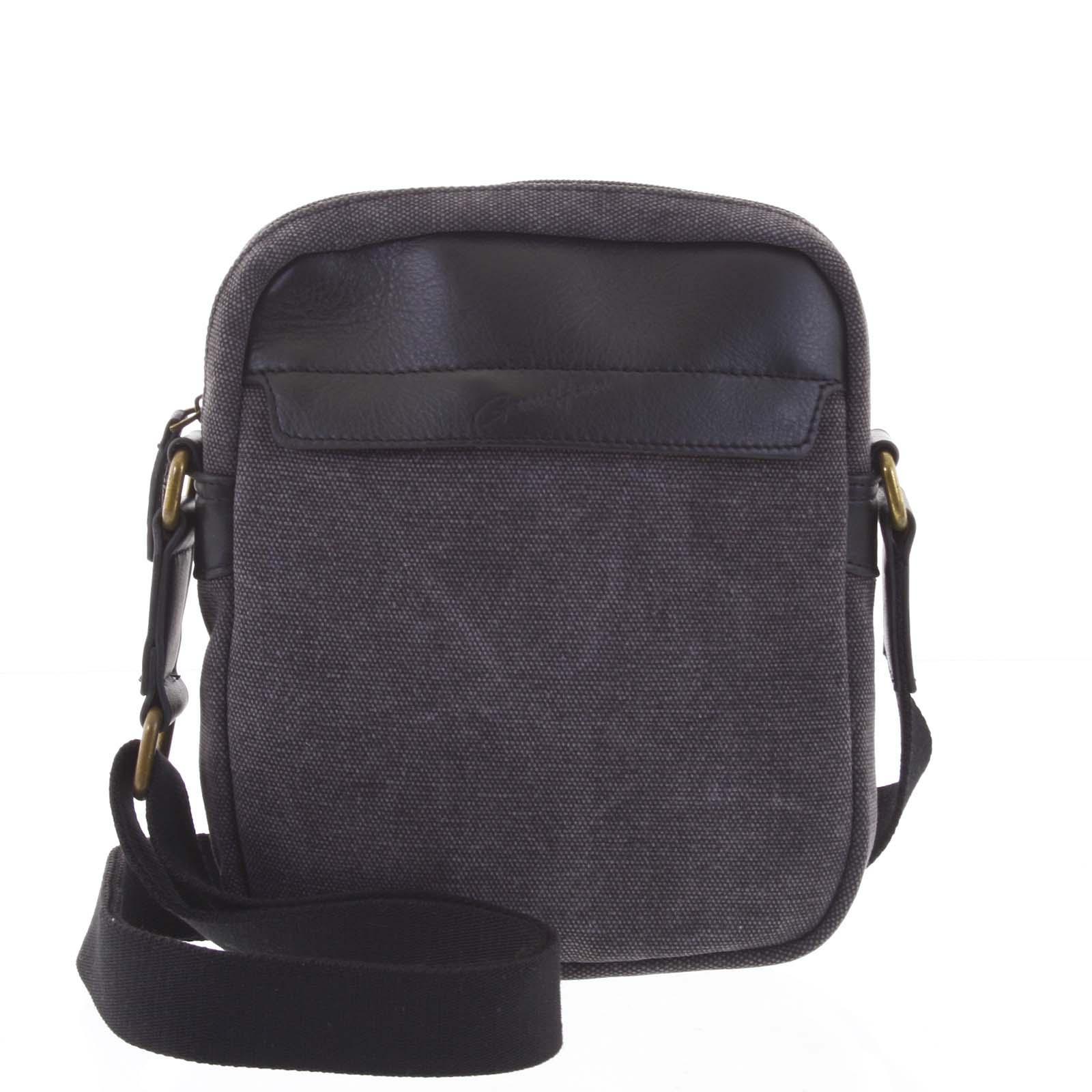 Stylová pánská taška na doklady černá - Gerard Henon Vidal
