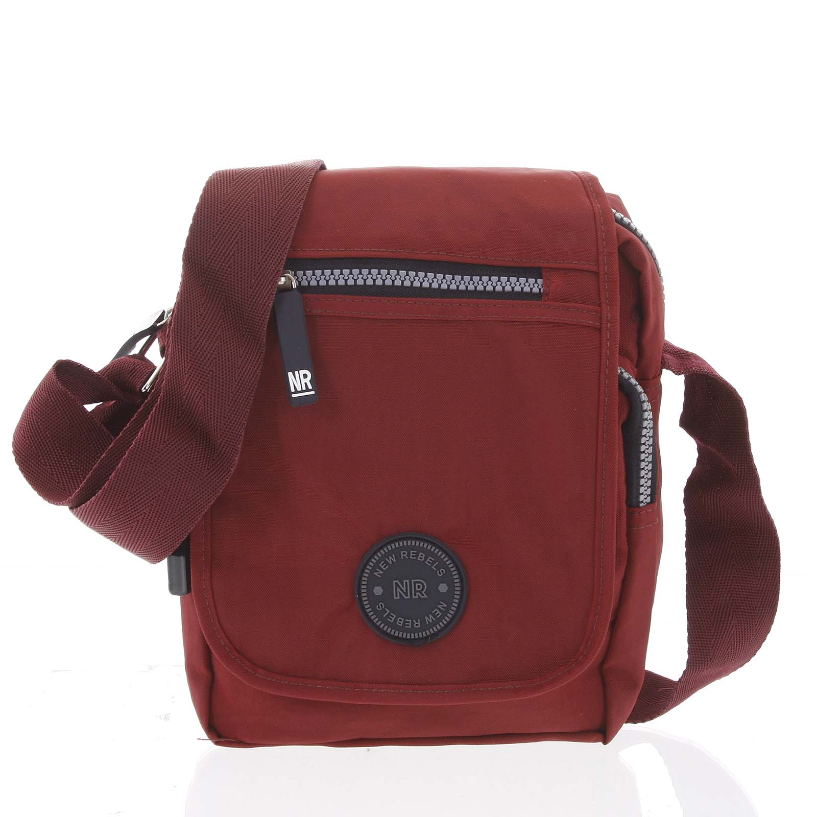 Malá sportovní taška na doklady červená - New Rebels Jacob