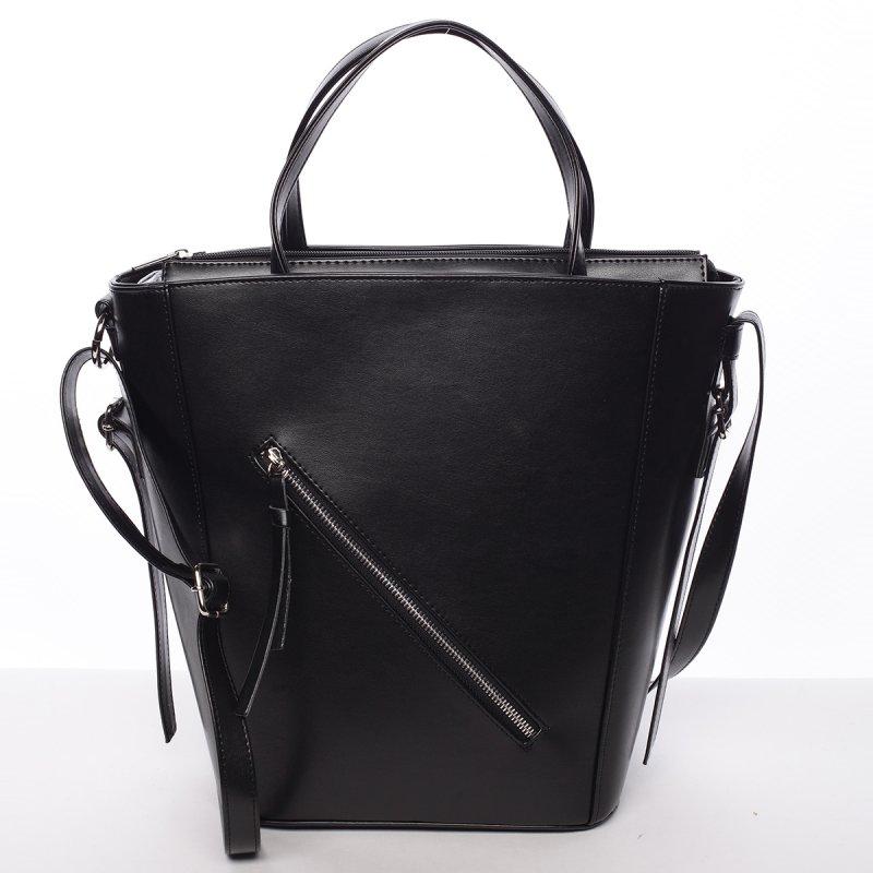 Moderní dámská kabelka do ruky černá - Delami Maryam